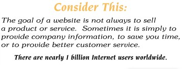 Consider using the internet to enhance your business opportunities