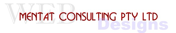 Mentat Conslutling Pty Ltd specialising in Web Designs