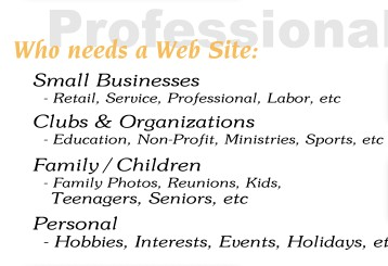Professional solutions to your needs
